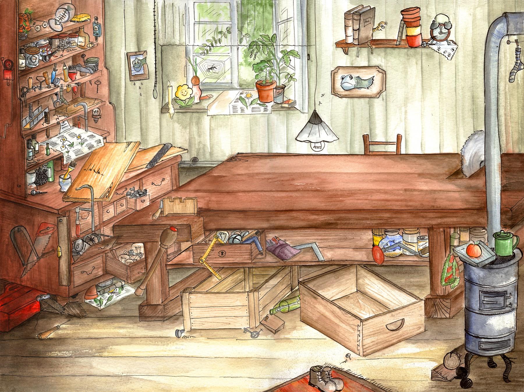 Introbild für das Projekt Felix & Felicitas - Der Kistenmacher