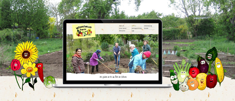 Introbild für das Projekt Interkultureller Garten Ulm