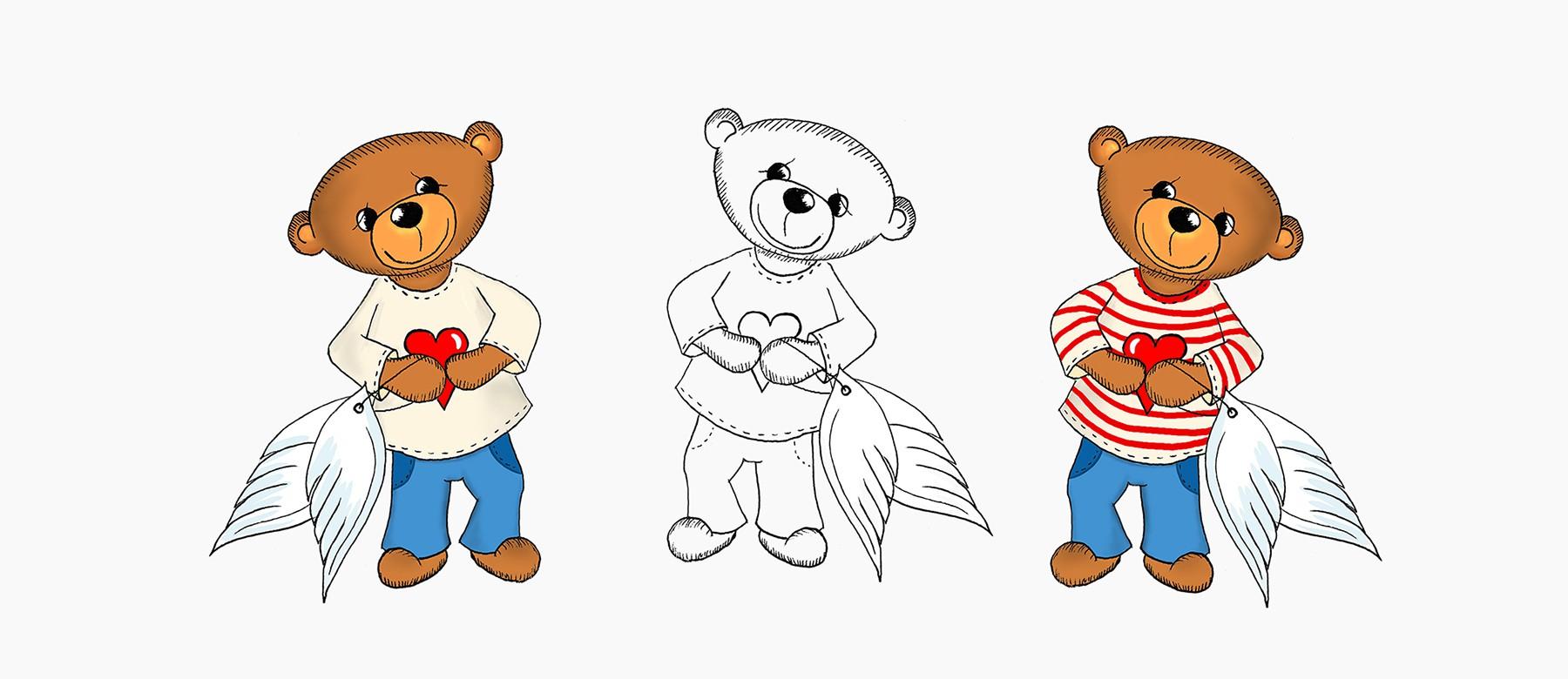 Introbild für das Projekt Teddyengel