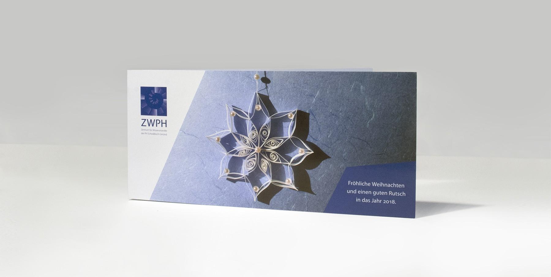 Introbild für das Projekt ZWPH Weihnachtsgrußkarte